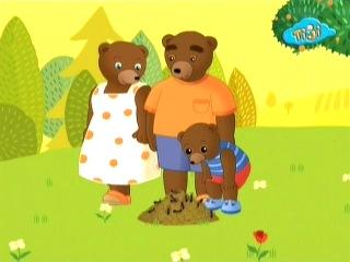 Приключения бурого медвежонка - 21.Бурый медвежонок любит пикники